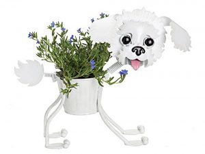Bichon Frise Indoor or Outdoors (Garden) Décor Plant Stands