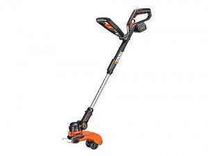 Worx 32-Volt String Trimmer/Edger/Mini-Mower with Tilting Head and Single Line Feed