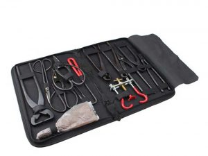 AGPtek® Bonsai Tool 14-Piece Carbon Steel Shear Set and Tool Kit