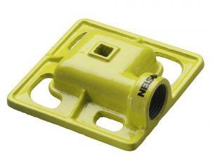 Nelson Cast Iron Square Spray Pattern Stationary Sprinkler Head