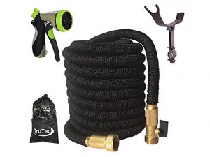 Trutec Expanding Garden Hose Triple Layer Latex Core Solid