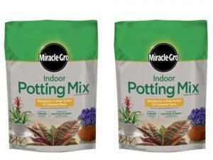 Miracle-Gro Indoor Potting Mix 6 Quart
