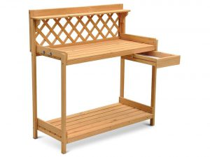 Outdoor Wood Potting / Planting Bench