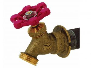 Mueller/B & K Outdoor Hose Lawn Faucet 3/4-Inch Brass Female Pipe Thread Sillcock