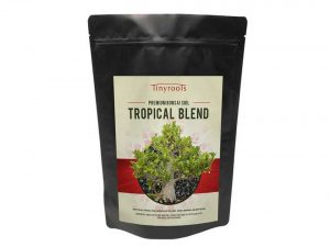 Tropical Bonsai Tree Soil Blend Two Quarts From Tinyroots - Perfect For Healthy Bonsai Growth