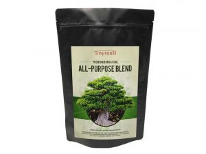 Bonsai Tree Soil All Purpose Blend - Tinyroots-Brand 100% Organic All Natural