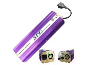 SPL Horticulture STB 1000 Hydroponic 400 Watt HPS Mh Digital Dimmable Electronic Ballast for Grow Light Bulb Lamp
