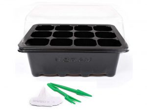 KORAM 10 Sets Seed Starter Tray 120 Cells Seed Tray