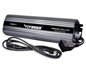 VIVOSUN 1000 Watt Dimmable Digital Ballast for HPS MH Grow Light