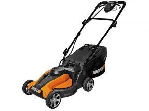Worx 14-Inch 24-Volt Cordless Lawn Mower with IntelliCut