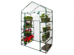 U.S. Garden Supply Premium Walk-In 4 Tier Greenhouse