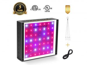 Mars Hydro 300W LED Full Spectrum Grow Light for Hydroponic Indoor Plants Growing