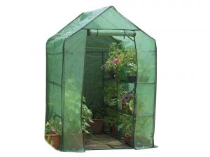 Gardman Walk-In Greenhouse with Shelving