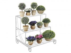 Yaheetech 3 Tier Stair Style Metal Plant Stand