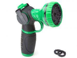 SC Water Metal Garden Hose Nozzle with Anti Leak Heavy Duty 10 Pattern