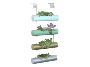 Four Season Vertical Zen Micro Garden Planter Succulent Cactus Small Plants Herbs Planting Cylinder System