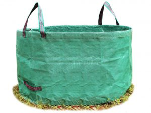 Natural ProTech Garden Reusable Leaf Bag 8.5 Cubic Foot Yard Lawn Gardening Waste Bag