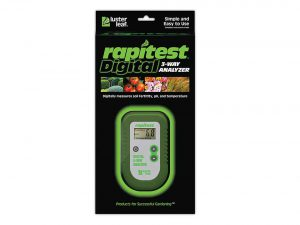 Rapitest Luster Leaf Digital 3-Way Soil Analyzer