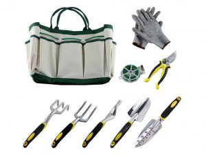 9Pcs Ergonomic Garden Tool Sets