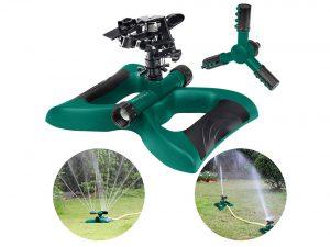 HonPaul Lawn Impact Sprinkler,360 Degree Rotating Sprinkler Irrigation System