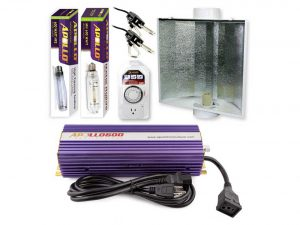 Apollo Horticulture 600 Watt Grow Light Digital Dimmable HPS MH System for Plants
