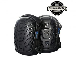 Larosa Protective Knee Pads with Comfortable Gel Cushion, Heavy Duty Foam Padding, Strong Straps & Adjustable Easy-Fix Clips