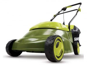 Sun Joe Mow Joe 14-Inch 12 Amp Electric Lawn Mower With Grass Bag