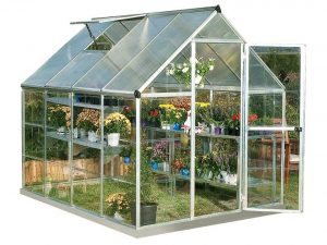 Palram Hybrid Hobby Greenhouse, Plant Hangers Included