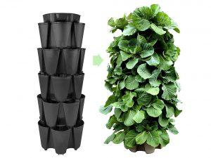 HUGE GreenStalk 5 Tier Vertical Garden Planter w/Patented Internal Watering System