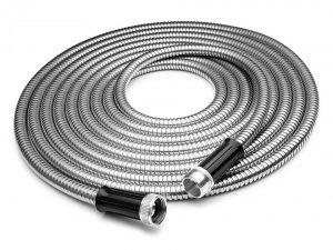 Tiabo Metal Garden Hose Stainless Steel Super Flexible Cool