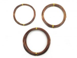 Quality Bronze Long Lasting Bonsai Training Wire Set of 3 Sizes