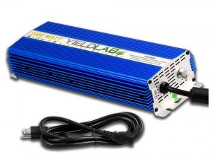 Yield Lab Horticulture Slim Line Dimmable Digital Ballast for HPS MH Grow Light